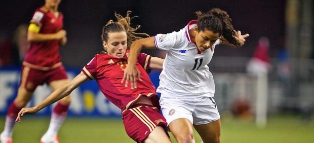 España debuta en el Mundial de Fútbol