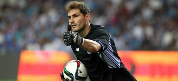 Iker Casillas con el Oporto