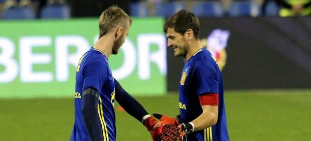 Iker Casillas y David de Gea