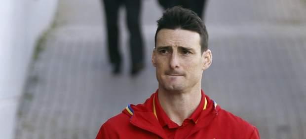 Aduriz con la selección española