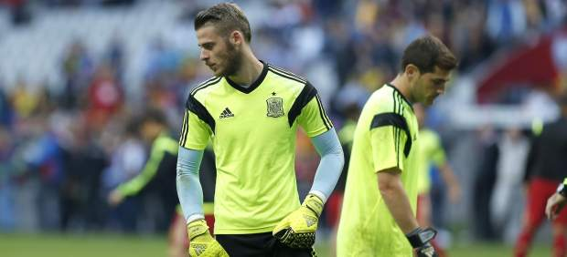 David De Gea e Iker Casillas.
