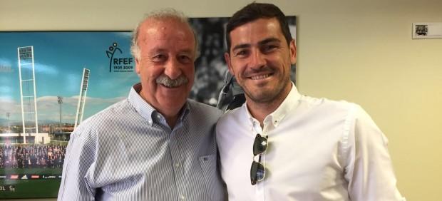 Casillas y Del Bosque