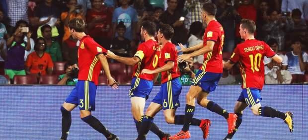 Gol de Abel Ruiz con España sub-17