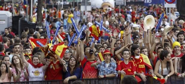 Espectadores en Madrid