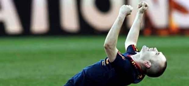 Gol de Iniesta en el Mundial 2010