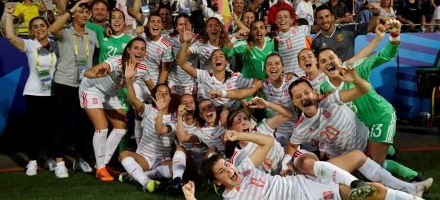 España, tras vencer a Francia en semifinales del Mundial Sub-20