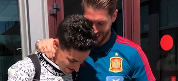 Sergio Ramos y Jesús Navas