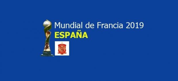 España en el Mundial 2019.