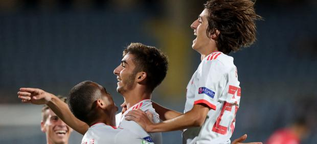 La selección de fútbol sub-19 gana el Europeo de Armenia