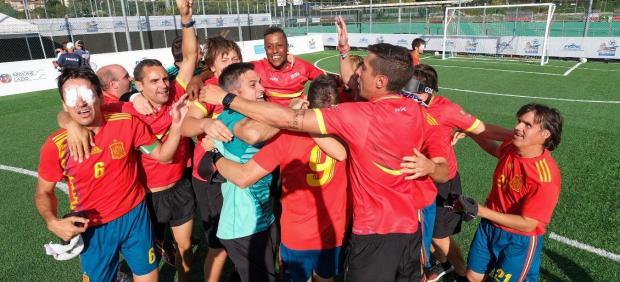 Selección española para ciegos
